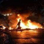 Protestas en Pantoja por solución de problemas continuaron con varios heridos y detenidos