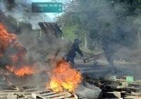 Sepultan madre y sus tres hijos murieron accidente; Protestan por falta de peatonal