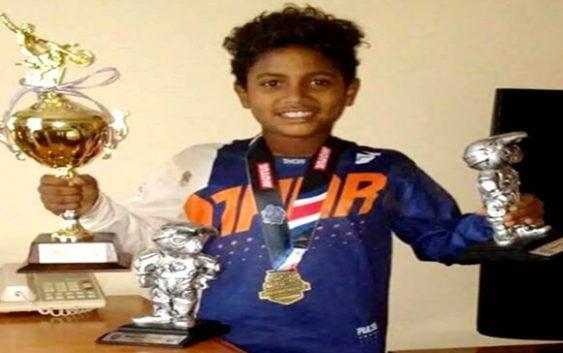 Darwin Baéz hijo gana en Campeonato Latinoamericano de Minicross 2018