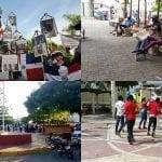 A invasores haitianos intentaban mancillar Parque Duarte se le fue el «tiro por la culata»; Vídeo