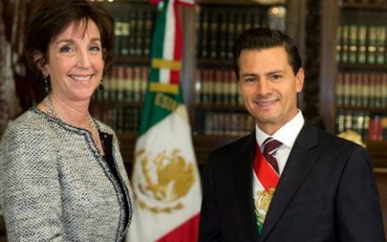 Renuncia Roberta Jacobson, embajadora de los Estados Unidos en México
