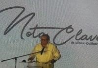 Alfonso Quiñonez presentó su website notaclave.com