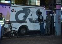Chófer y custodias camión cometieron autorobo, prófugos cargaron con valijas con 36 MM