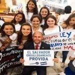 CitizenGO encabeza concentración ProVida en el Congreso de El Salvador