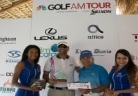Malespín y Félix ganan Tercera Parada Golf Channel AM Tour RD