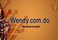 Wendy Santana con Website Wendy.com.do