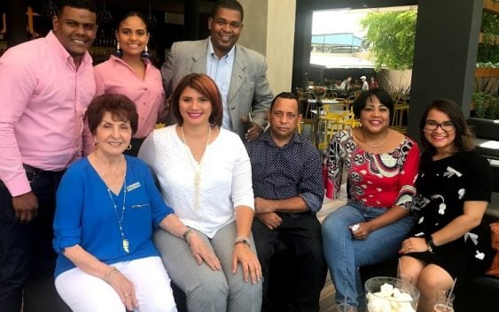 Centro Médico Bournigal agasaja periodistas de Puerto Plata