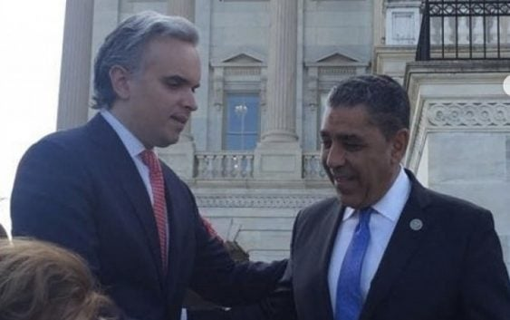 Delegación del PRSD estuvo en Washington en el homenaje a Peña Gómez