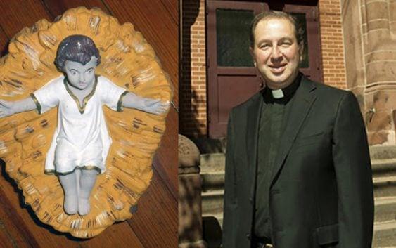 Devuelven Niño Jesús, robado desde hace casi un siglo a Iglesia de Nueva Jersey