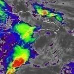Onamet: Continuarán aguaceros y tormentas eléctricas por vaguada; Avisos y alertas se mantienen