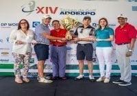 Dúo Marco y Hugo Polanco (padre e hijo) conquistan Copa de Golf Adoexpo