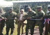 Inaugurán destacamentos del Ejército en El Dean, Monte Plata y Los Limones, Los Haitises