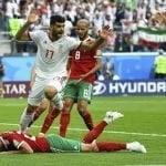 Irán con autogol de Aziz Bouhadouz deja a Marruecos en blanco en Mundial de Fútbol Rusia 2018
