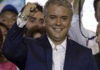 Iván Duque presidente electo de Colombia revisará y modificará Acuerdo de Paz con la FARC