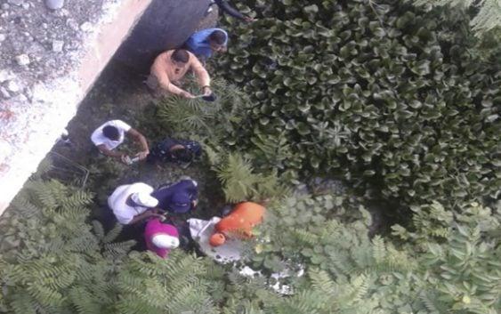 Hallan en estado de descomposición cadáver de hombre debajo de puente