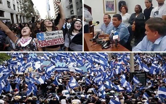 En paro convocado por empresarios y estudiantes Daniel Ortega se suma cinco asesinatos