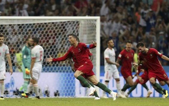 En el partido más emocionante España y Portugal empataron en Mundial de Fútbol Rusia 2018
