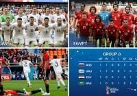 Uruguay con gol de Giménez blanquea a Egipto en el Mundial de Fútbol Rusia 2018
