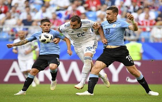 Uruguay humilló a Rusia y aseguró primer puesto del Grupo A del Mundial Rusia 2018