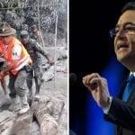 Jimmy Morales debe ser llevado a la Corte de Justicia por abulia ante erupción del Volcán de Fuego