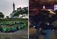 Así andaban asaltantes de Azua, también por encima de la Ley; Agreden activistas Campamento Verde