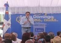 Alcalde David Collado inicia aceras y contenes del barrio Mejoramiento Social