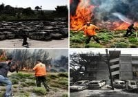Satelites muestran incendios en Grecia fueron provocados; Alcalde dice fue tendido eléctrico caído