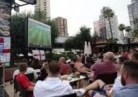 Benidorm refuerza seguridad ante partido Croacia-Inglaterra del Mundial Rusia 2018