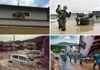 Japón: 224 muertos por inundaciones y 14 por ola de calor; Varios desaparecidos y 1,500 hospitalizados