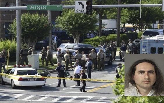 Asesino de periodistas en Maryland se mutiló dedos para no ser identificado preso sin fianza