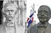 Por doquier: Dominicanos indignados protestan porque efigie no es del Patricio Juan Pablo Duarte