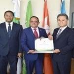 Ministro de Medio Ambiente reconoce Iglesia de Dios Sociedad Misionera Mundial