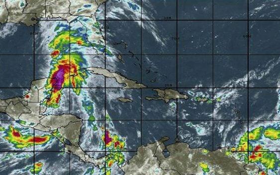 Onamet: Incrementa Alerta Meteorológica por remanente de la tormenta tropical Beryl