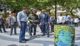 Parque La Lira renovado por el Ayuntamiento del Distrito Nacional