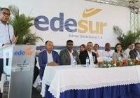 Edesur pone en funcionamiento servicio 24 horas en sectores de SDO y Quita Sueño