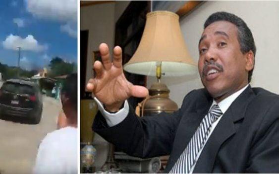 """Igual que aquí en RD no quieren a Félix Bautista, lo echan al son de: """"Vallese, no lo queremos""""; Vídeo"""