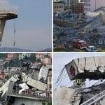 39 muertos por derumbe puente Morandi en Génova, tres chilenos, un colombiano y un peruano