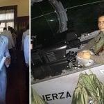 Restos piloto Villanueva Garay están expuestos en Blandino Sabana Larga y su inhumación será esta tarde