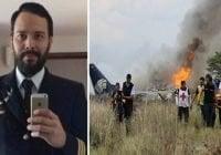 Piloto de avión accidentado en México mejora tras operación de columna; Vídeo