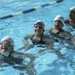 Body Shop Athletic Club lleva a cabo exhibición de nado sincronizado