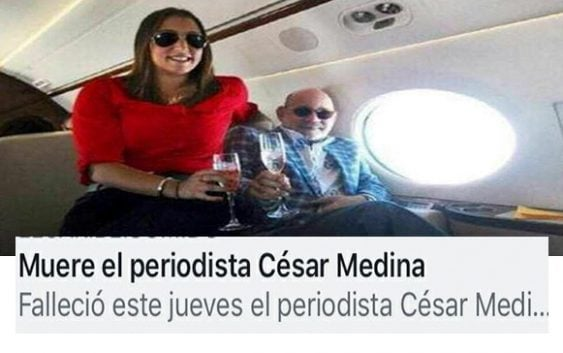 Redes sociales explotan de felicidad por muerte de César Medina (Décima)