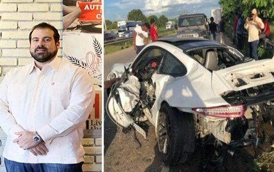 Finalmente accidente de tránsito le cobra la vida al joven Fernando Rainieri; Vídeo