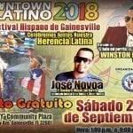 """Este sábado el XVI Festival Cultural """"Downtown Latino"""" con el El Baile del Perrito y Winston Paulino; Vídeo"""