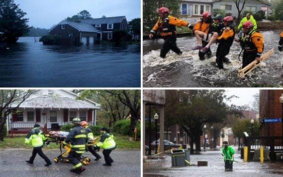 Huracán Florence en Carolina del Norte: 11 muertos, 20 mil refugiados y 773 mil viviendas sin energía; Vídeo