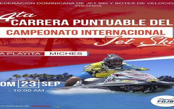 Este domingo Cuarta Puntuable del Campeonato Nacional de Jet Ski en La Playita: Vídeos