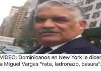 Comunidad dominicana saluda efusivamente a Miguel Vargas en la ONU (Décima)