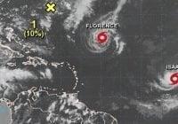 Onamet informa vigila huracanes Florence, Helene e Isaac; Advierte oleajes en la Costa Atlántica