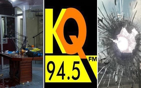Policía Nacional investiga tiroteo en emisora KQ 94.5 FM