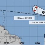 Onamet: Florence alcanzó categoría de tormenta tropical; Continuarán aguaceros, emite alertas y avisos