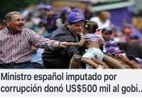 Danilo Medina en otro lío de corrupción… (Décima)